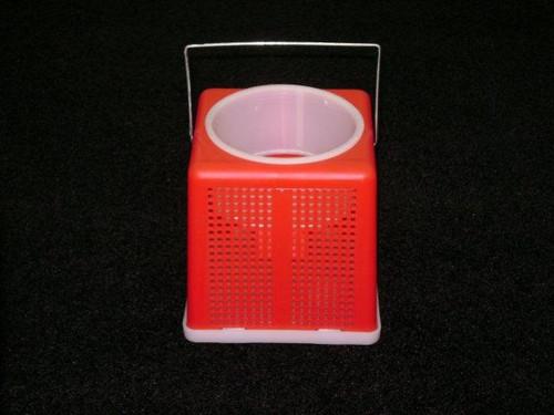 "Challenge 6"" Square Plastic Cricket Bucket"