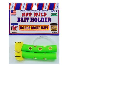 Magic Bait Bait Holder Tubes Green 2ct