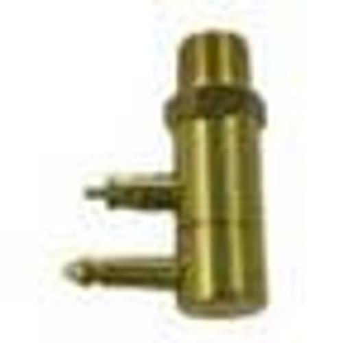 "Sea Sense Fuel Connector Male Yamaha 1/4"" Brass NPT"