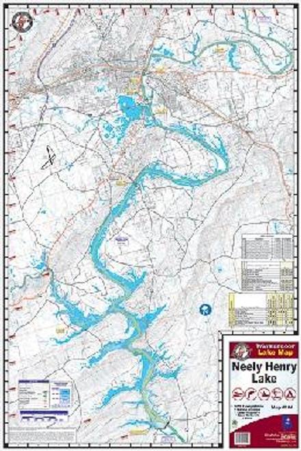 Kingfisher Lake Map Neely Henry