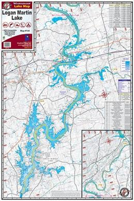 Kingfisher Lake Map Logan Martin