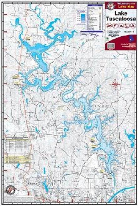 Kingfisher Lake Map Tuscaloosa