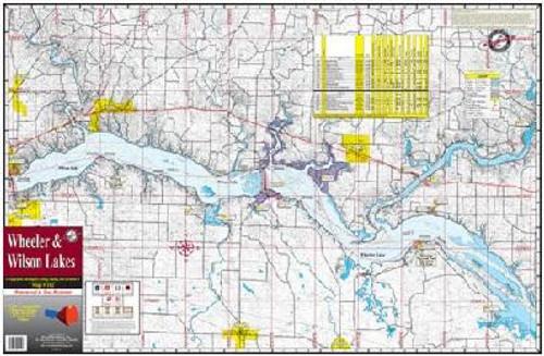 Kingfisher Lake Map Wheeler/Wilson