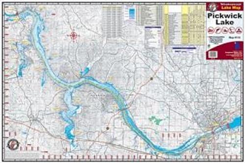 Kingfisher Lake Map Pickwick