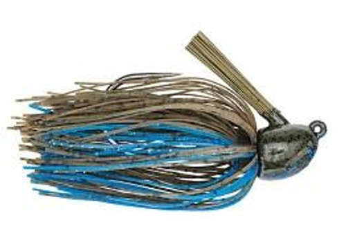 Strike King Hack Attack Fluro Jig 1/2oz Okee Craw