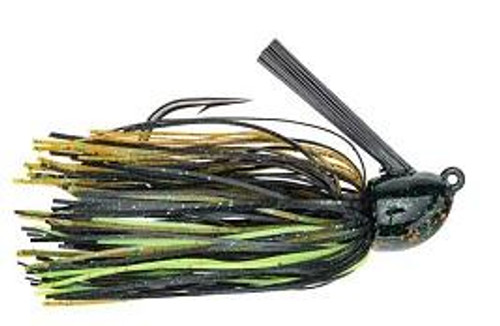 Strike King Hack Attack Fluro Jig 1/2oz Texas Craw