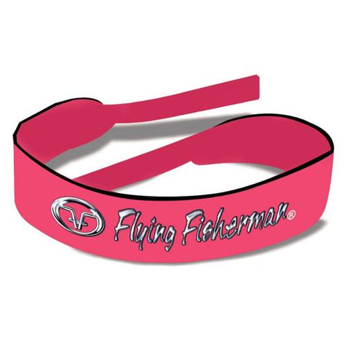 Flying Fisherman Retainer Strap  Pink Neoprene