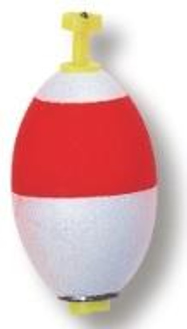 """Betts Snap On Weighted Oval 2.00"""" 50ct Red/White"""
