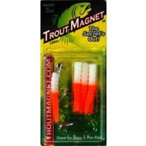 Leland Trout Magnet 1/64oz 9ct White/Orange