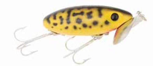 Arbogast Jitterbug 1/4 Yellow Coach Dog