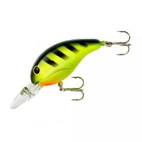 """Bandit Lure 4-8' 2"""" 1/4oz Chartreuse Black Stripe"""