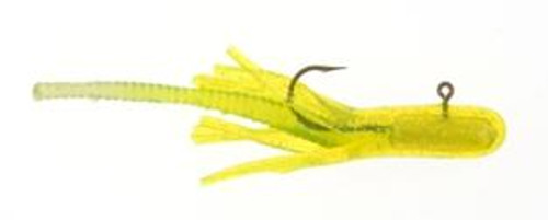 Berkley Atomic Teasers 1/16 3ct Chartreuse/Silver