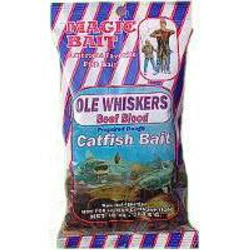 Magic Bait Ole Whiskers Blood Bait 10oz