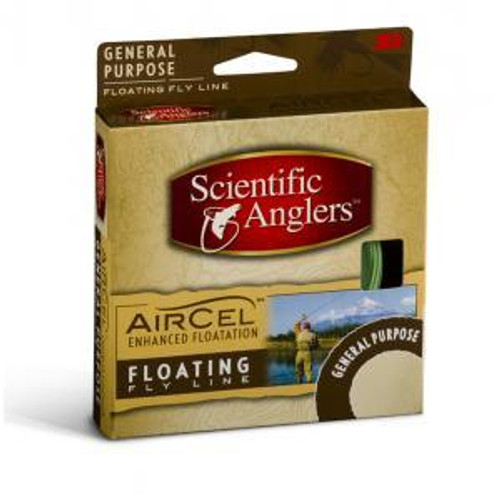 Scientific Anglers Air Cel Weight Forward Fly Line Yellow Size 6