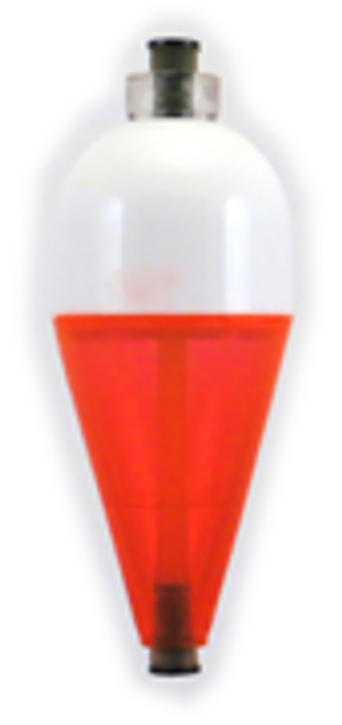 Rainbow A-Just-A-Bubble Float 3/8  Red/White Blister