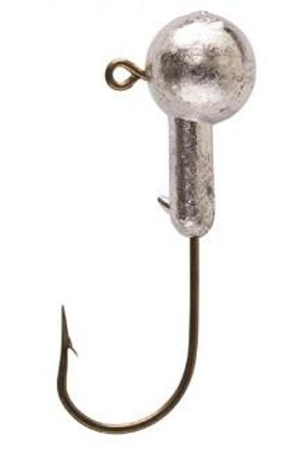 Eagle Claw Jig Head 1/4 10ct Unpainted