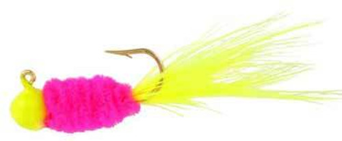 """Blakemore Slab Daddy 1/16 Chartreuse/Pink/Chartreuse """"Electric Chicken"""" 3ct"""