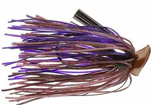 Buckeye Football  Jig 1/2oz Cinnamon Purple