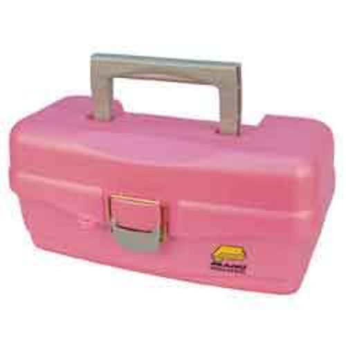 Plano 1-Tray Tackle Box 1 Tray Lift Out Pink