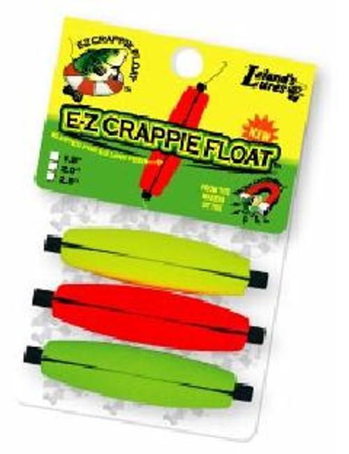 "Leland E-Z Crappie Floats 3ct 1.5"""