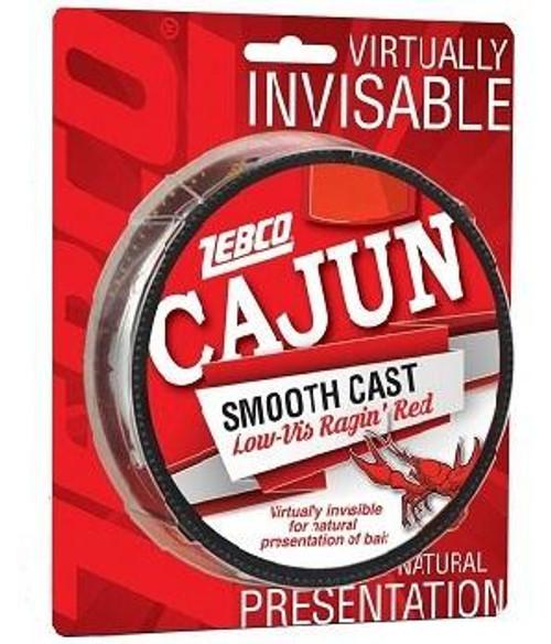 Cajun Line Smooth Cast Low Vis Red 330yd 8lb