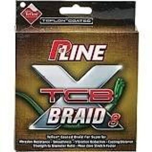 P-Line TCB Braid Line 150yd Green 40lb