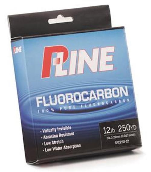 P-Line Fluorocarbon 100% Pure 250yd 6lb