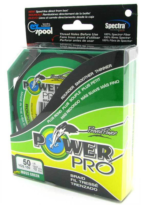 Power Pro Braid Green 150yds 80lb