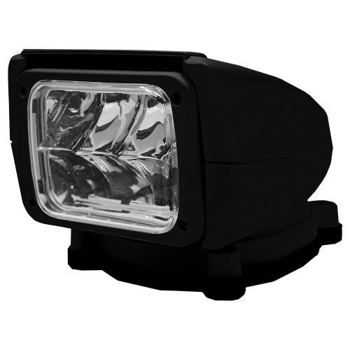 Acr Rcl85 Black Led Spotlight With Wireless Hand Remote 240,000 Candela 12/24v