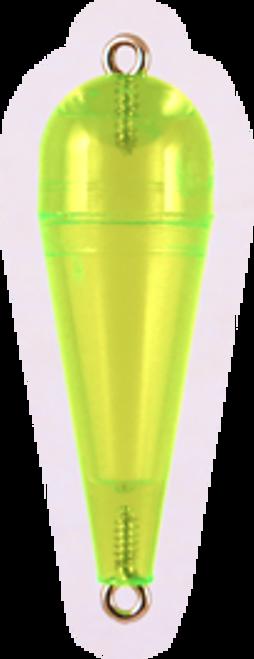 Rainbow Torpedo Float 1/8oz Trans.Chart 12ct