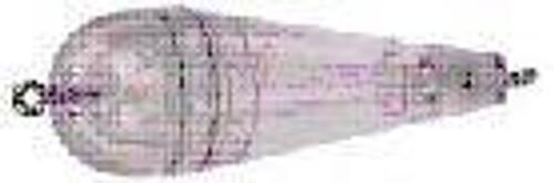 Rainbow Torpedo Float 1/4 Clear