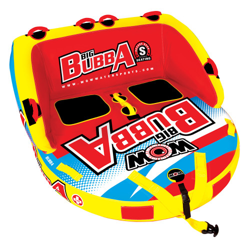 WOW Watersports Big Bubba HI-VIS 2P Towable - 2 Person