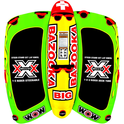 WOW Watersports Big Bazooka Towable - 4 Person