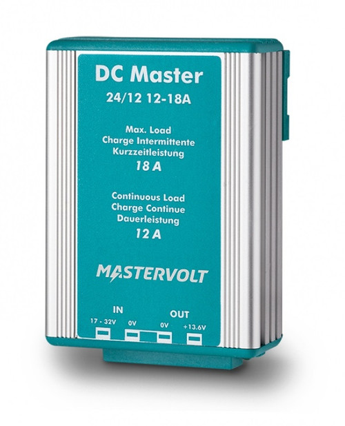 Mastervolt Dc Master 24/12-12a 24vdc To 13.6 Vdc - 12a