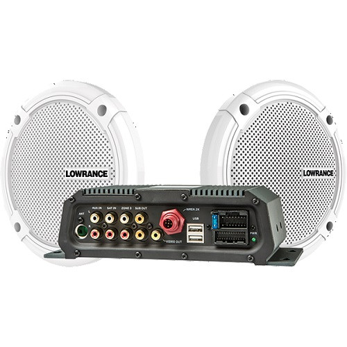 Lowrance Sonichub2 Audio Server With Speakers