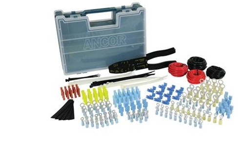 Ancor 225pc Electrical Repair Kit With Strip/crimp Tool