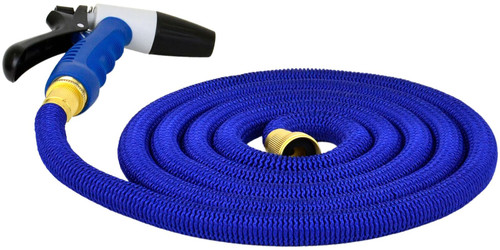 Hosecoil 25' Expandable Hose With Spray Nozzel