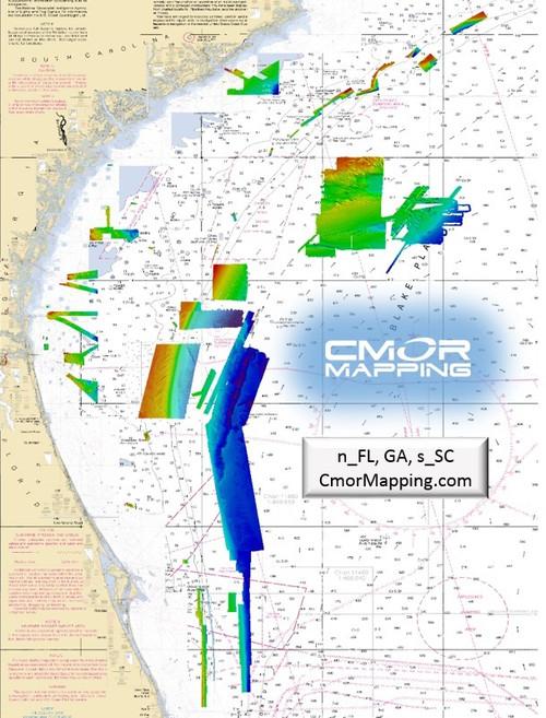 Cmor Mapping Nefl002s Northeast Fl, Ga And Sc Simrad