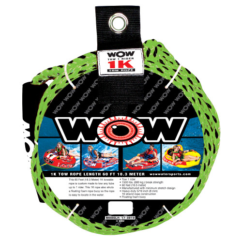 WOW Watersports 1K 60 Tow Rope