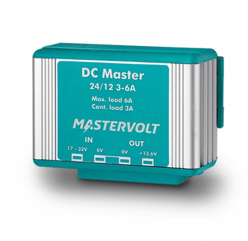 Mastervolt Dc Master 24/12-3a 24vdc To 13.6 Vdc - 3a