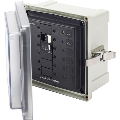 Blue Sea 3120 SMS Surface Mount System Panel Enclosure - 240V AC/50A ELCI Main f/Isolation Transformer