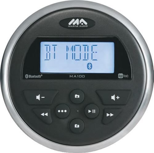 Marine Audio Ma100 Stereo Am/fm/usb With Bluetooth 160 Watts - 4x40w
