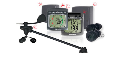 Raymarine Micronet Wireless Depth/speed/wind Nmea System