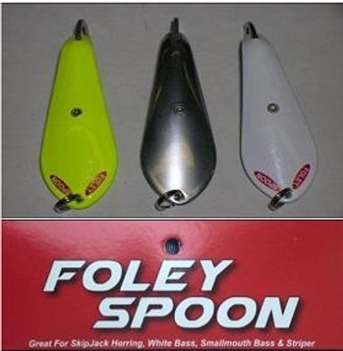 """Foley Spoons 2"""" Stainless 12/card"""