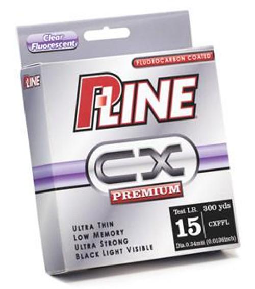 P-Line CX Preminum Fluorescent Clear 300yd 15lb