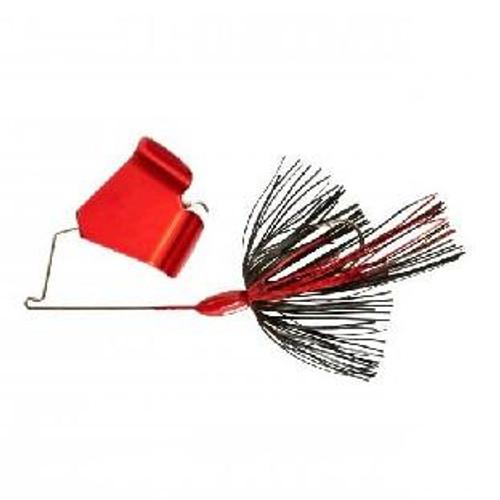 War Eagle Buzzbait 3/8oz Black Red Blade