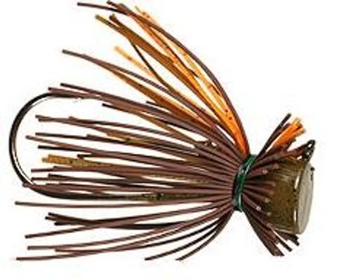Buckeye Finesse Jigs 1/2oz Orange/Pumpkin