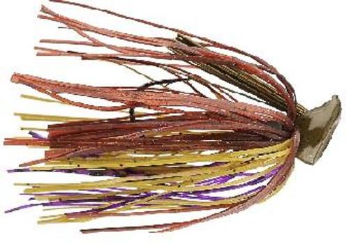 Buckeye Flat Top Finesse Jig 1/2oz Purple Pumpkin