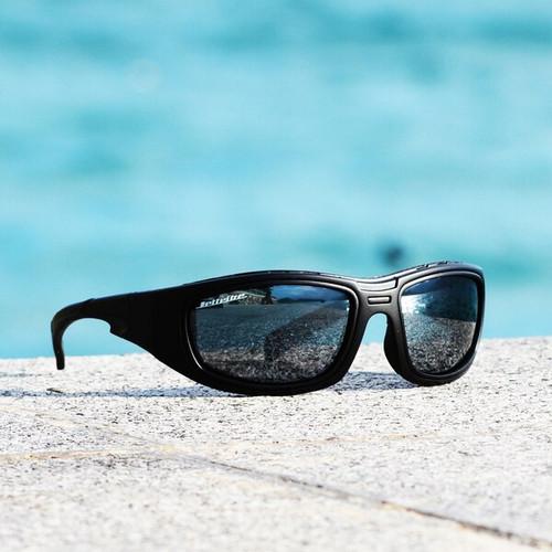Stealth Hybrid Goggles Matte Black Frame/Revo PWC Jetski Racer - Small/ Youth