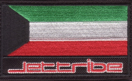 Flag Velcro Patch (Multiple Countries) PWC Jetski Ride & Race